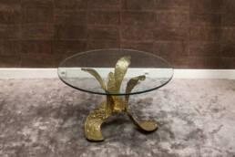 tavolino in bronzo Bagatti