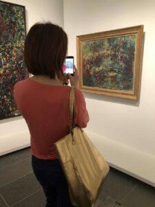 Il ponte giapponese di Claude Monet