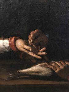 Mani. Il pesce é da sempre il simbolo del Cristo.