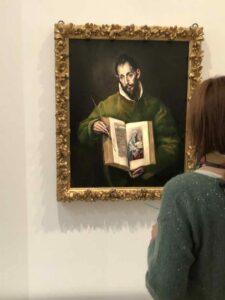 El Greco San Luca a Parigi