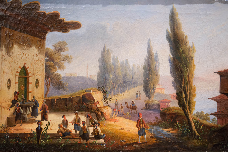 peinture orientaliste ecole francaise xixeme siecle egidi madeinitaly