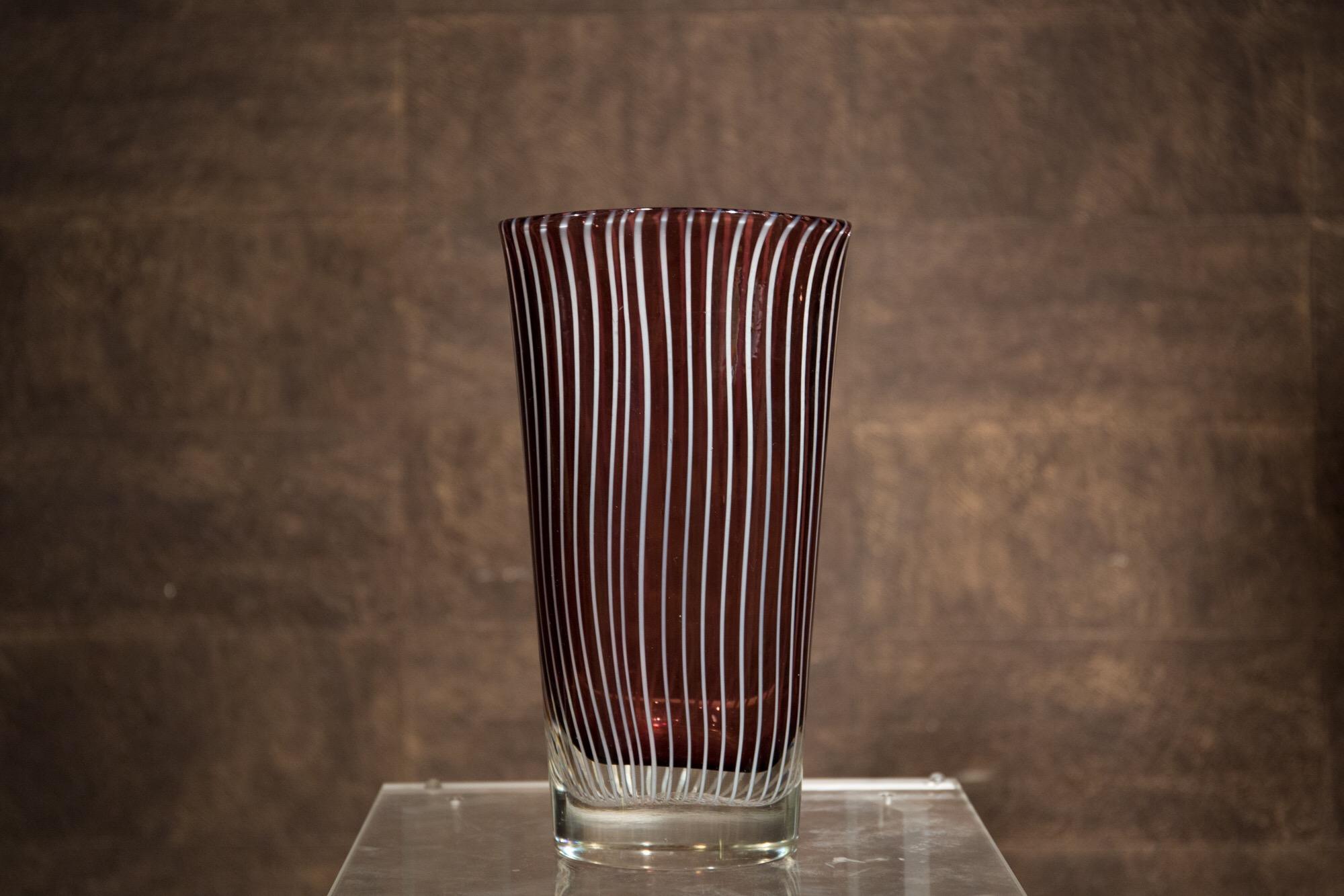 Vaso in Vetro Cenedese Murano