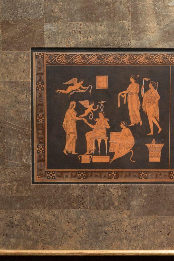 Serie Sei Stampe Pompeiane Neoclassiche