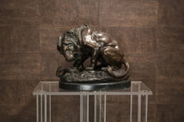 Bronze Signé Barye