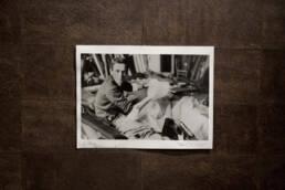 Photo de Pierre Cardin par Yoshi Takata Années 50