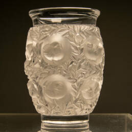 René Lalique Vaso in Cristallo Bagatelle