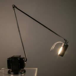 Daphina Lumina di Tommaso Cimini Lampada da Tavolo Nera