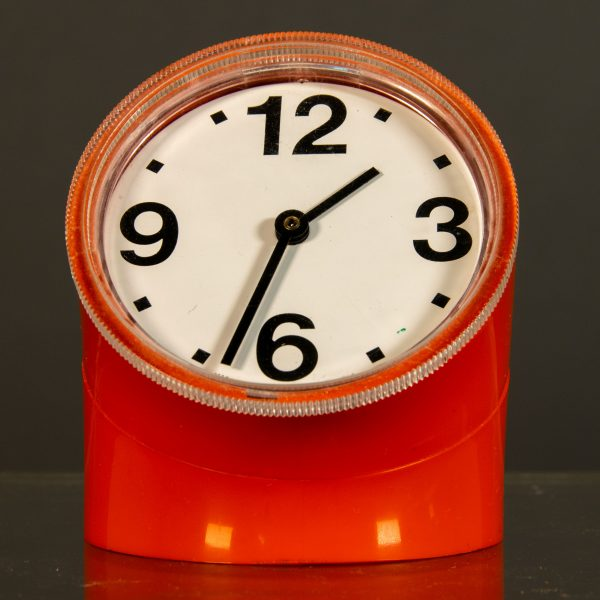 Orologio Arancione Cronotime Ritz Italora