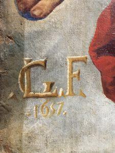 Signature par Luca Giordano