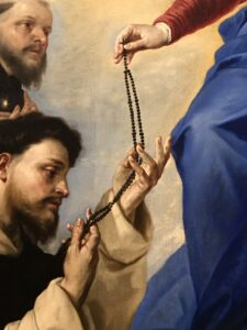 dettaglio San Domenico di Luca Giordano