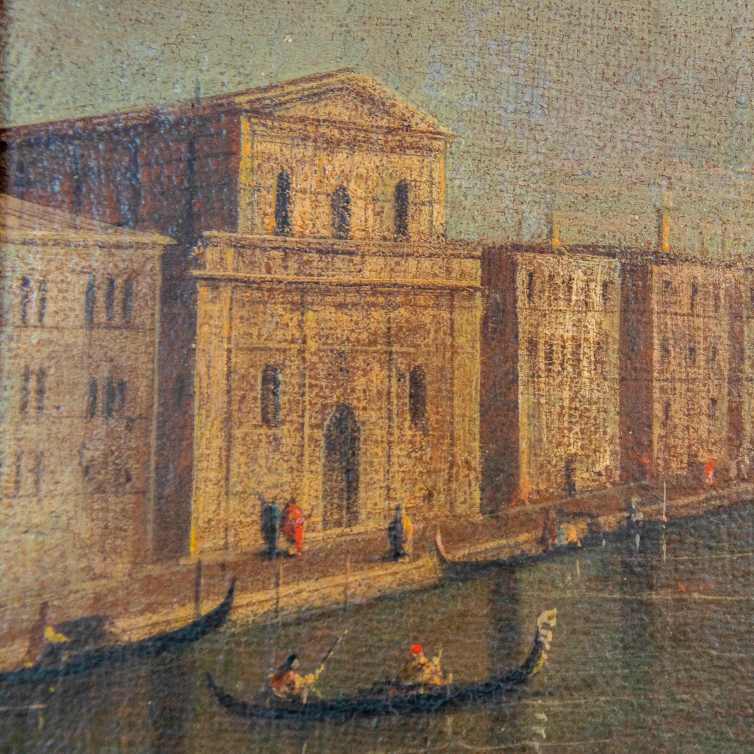 Venezia Canal Grande Quadro Santa Maria della Salute
