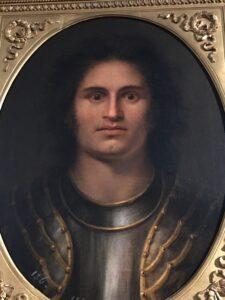 Antonio Canova 'Portrait imaginaire de Romano d' Ezzelino '