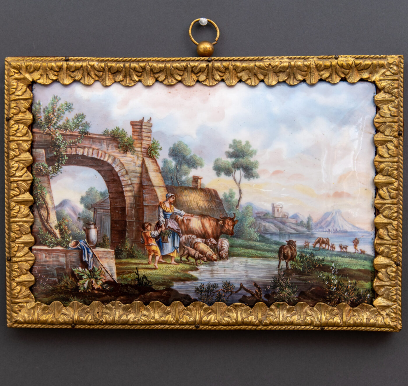 Dipinto Placca in Porcellana Sèvres
