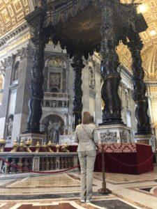 Le Baldaquin par le Bernin Musées du Vatican