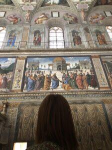 Pietro Perugino Tibi Dabo Claves Musei Vaticani