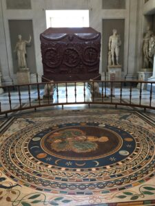Sarcophagus of Costantia Vatican Museums