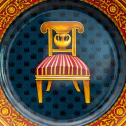 Assiette Italienne en Porcelaine Gucci Vintage