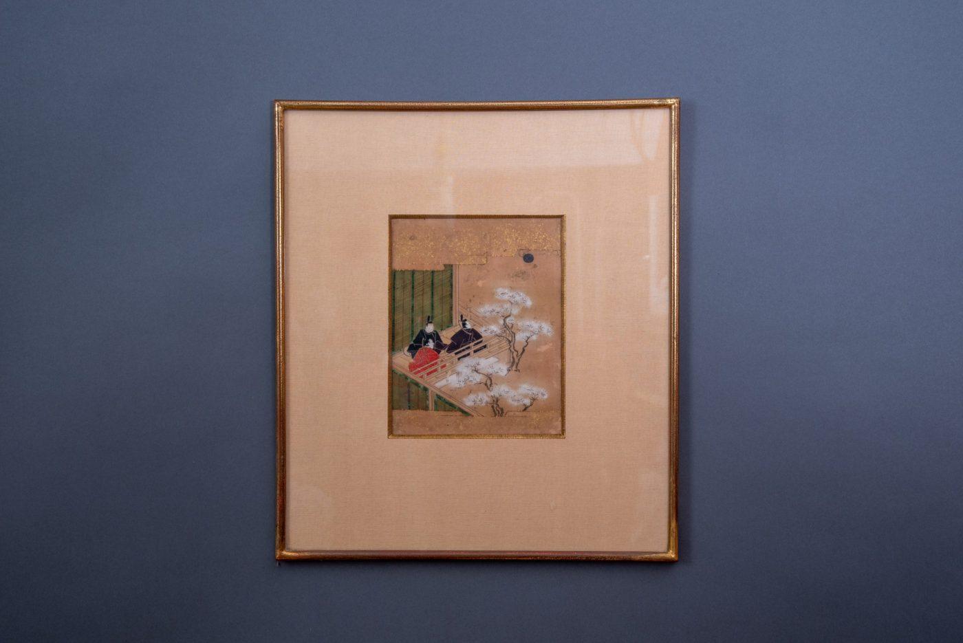 Quadro Antico Giapponese Epoca Edo