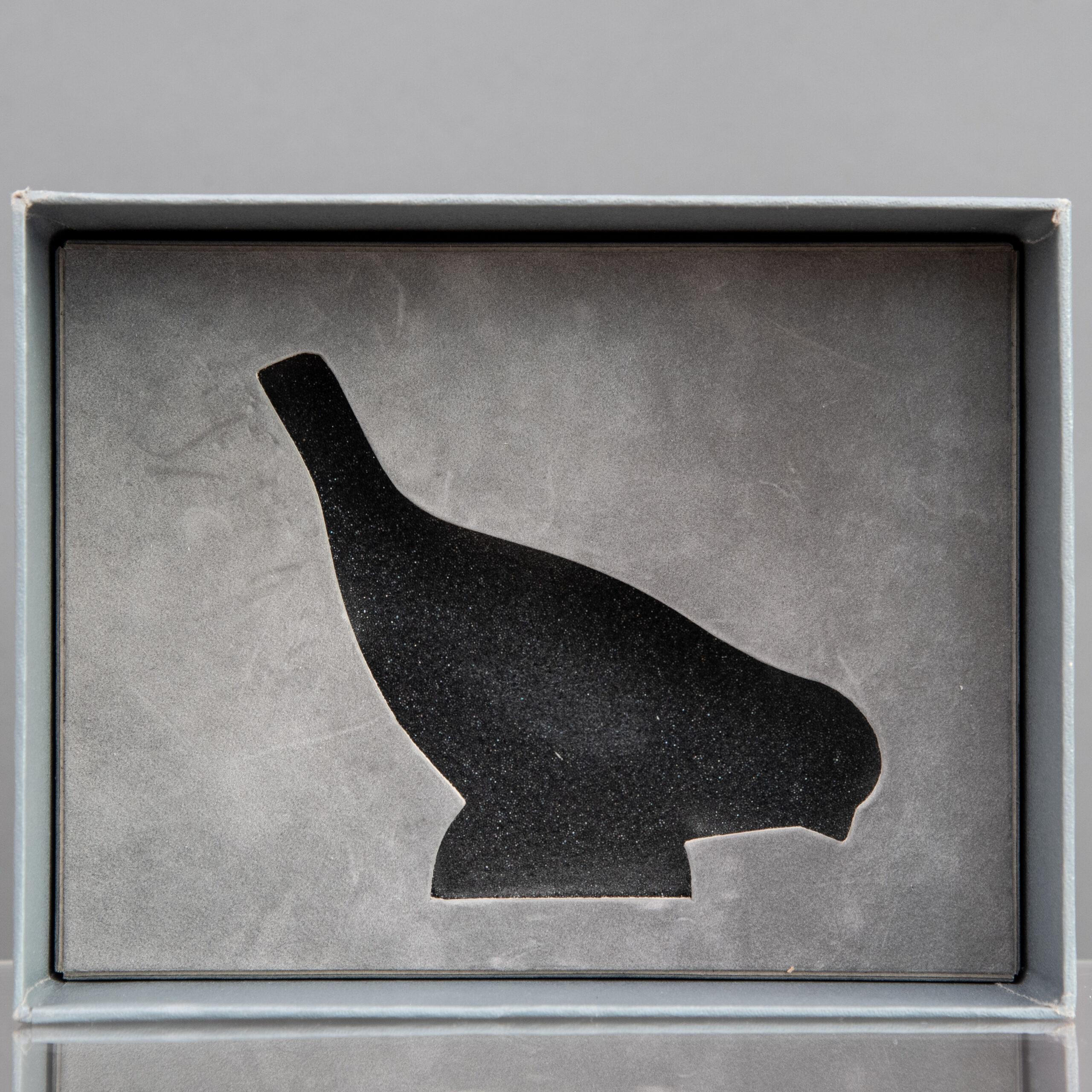 Astuccio Originale René Lalique Uccellino in Vetro