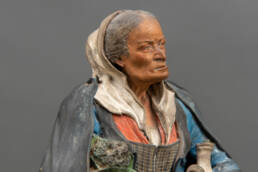 volto scultura terracotta Bongiovanni Vaccaro