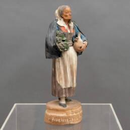 scultura terracotta Bongiovanni Vaccaro