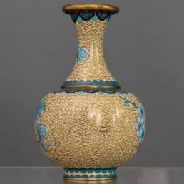 Vaso in Metallo Cloisonné Cina