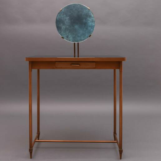 Gio Ponti Mid-20th Century Italian Copper Vanity Table