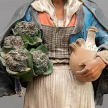 Figura Terracotta Policroma Bongiovanni Vaccaro
