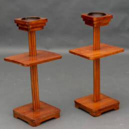 Pair of Art Deco Smoking Side Tables