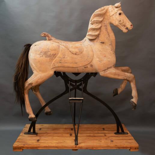 Cavallo da Giostra Firmato Freidrich Heyn