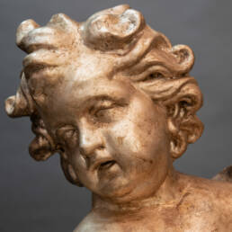 Pair of Monumental Putti Florence 17th Century