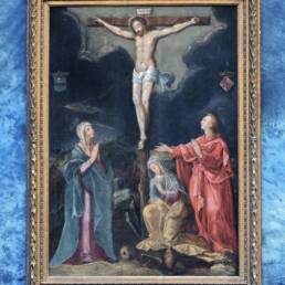 The Crucifixion Gillis Congnet Mid-16th Century