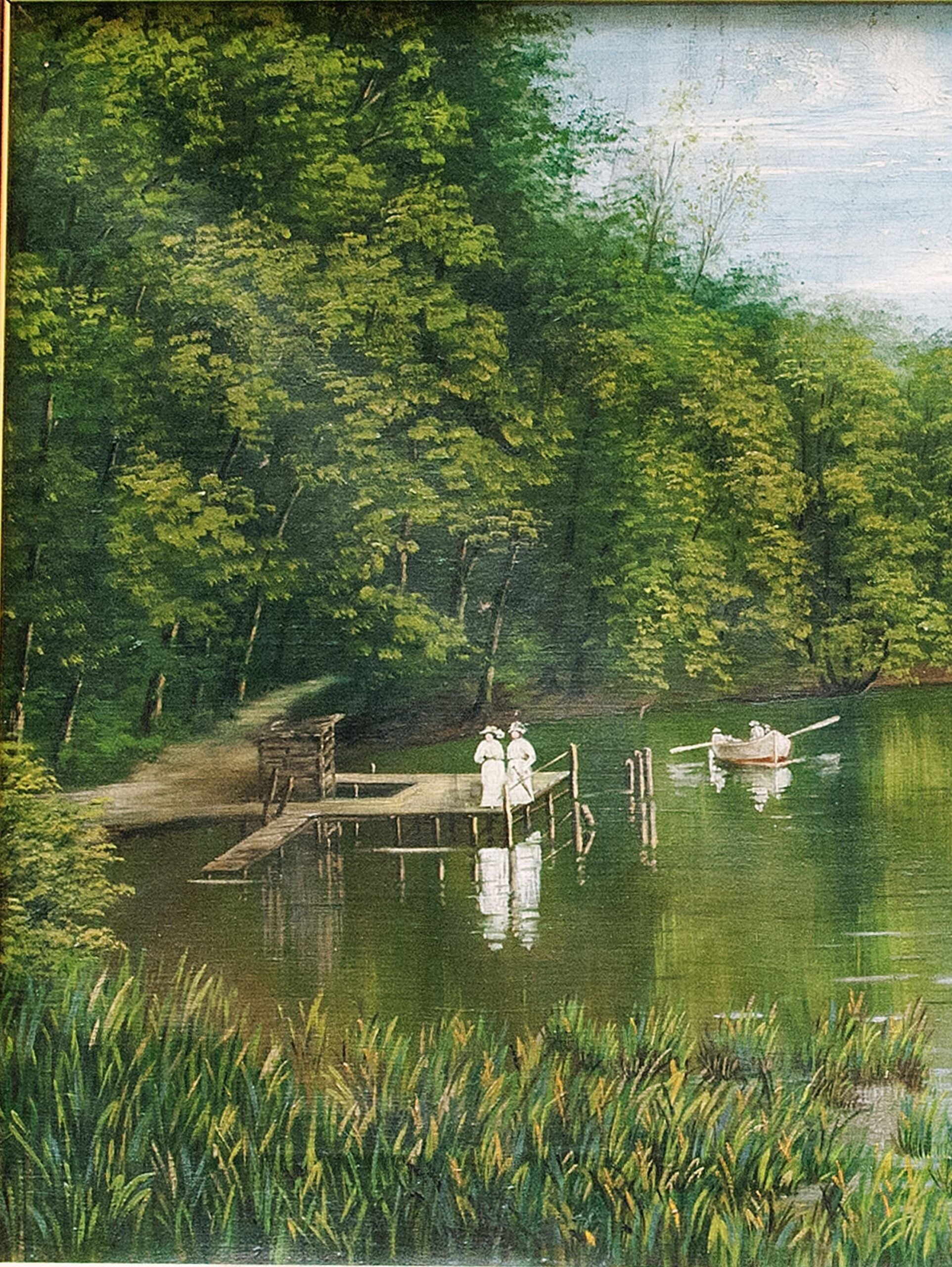 Quadro Paesaggio Rudolf Swoboda ll Giovane