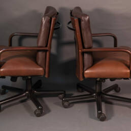 Two vintage seats design by Carlo Bartoli