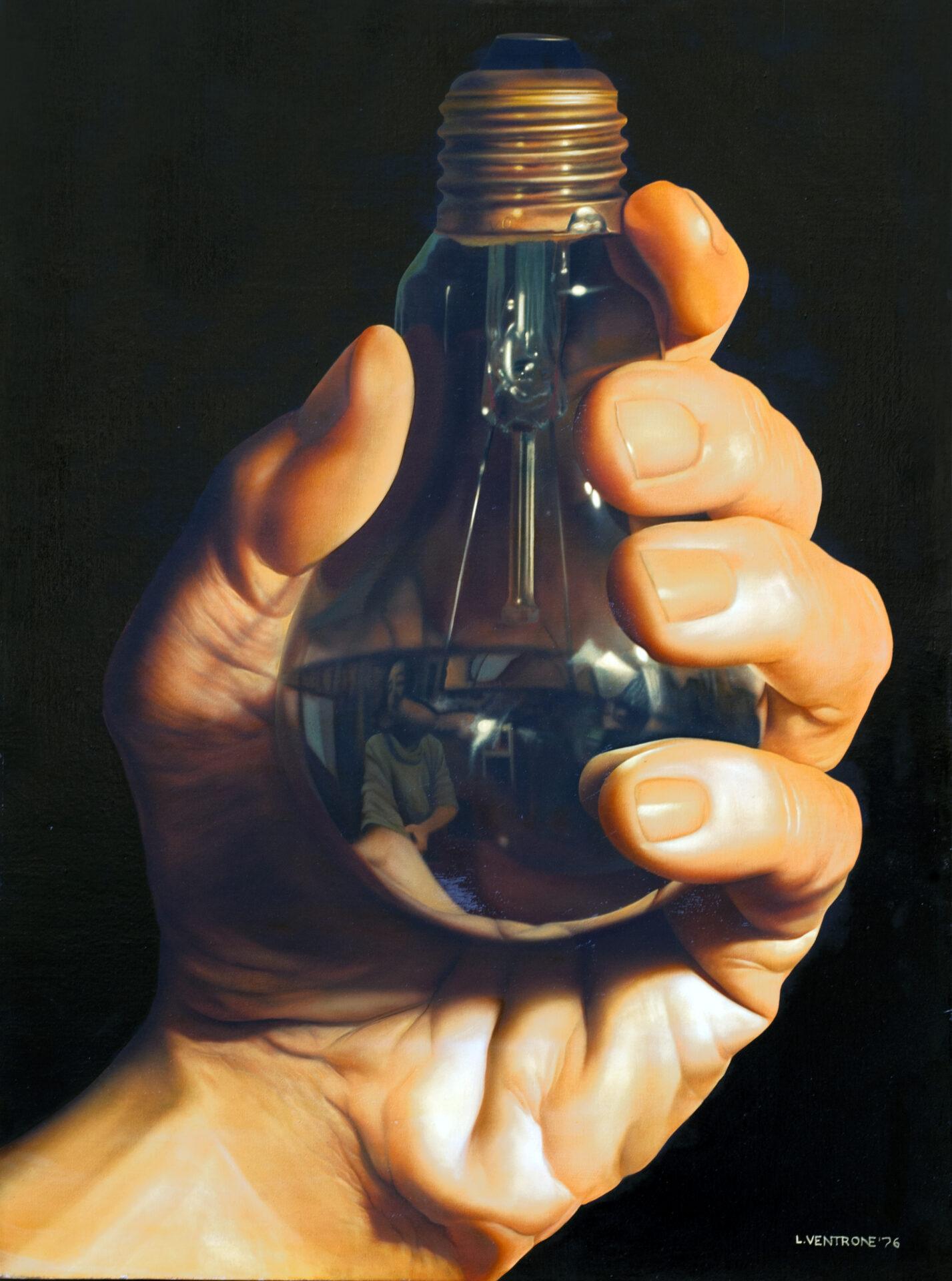 Arte Moderna Italiana olio su tela 1976